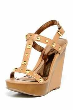 Carlos By Carlos Santana Isis Wedge Sandal Dream Shoes, Crazy Shoes, Me Too Shoes, Tan Wedges, Fashion Essentials, Types Of Shoes, Beautiful Shoes, Summer Shoes, Comfortable Shoes
