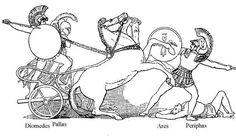 Badass of the Week: Diomedes Timeline Project, Trojan War, Greek Gods, Argos, Mythology, Badass, Greece, Colors, Troy
