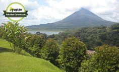 Disfrutá de un ambiente acogedor rodeado de la naturaleza con vista espectaculares al Lago y Volcán Arenal, por sólo ¢23,375 con desayuno