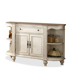 Coventry Server and Hutch I Riverside Furniture