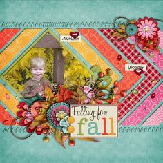 Falling for fall by Karen32, Like the chevrons, maybe lift for cub scouting?