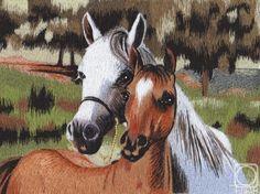 Art Embroidered Paintings by Derchenko Natalya