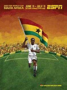 ESPN - Coupe du Monde Afrique du Sud 2010 - Ghana