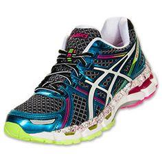 Asics Women's Running Shoes| FinishLine.com | Pink/Blue/Multi
