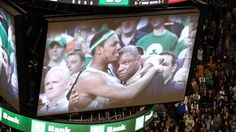 Doc Rivers Emotional Tribute Video from Boston Celtics on TD Garden Jumbotron