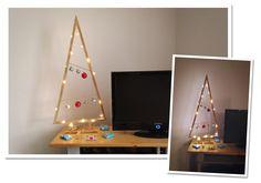 Sapin de Noël en bois de récup