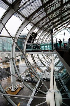 Paris – Charles de Gaulle airport.