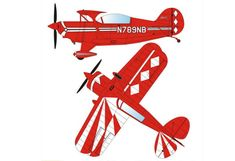 Pitts S2B Free Aircraft Paper Model Download