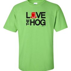 LOVE THE HOG TSHIRT (Punxsutawney Phil) at LOVEgroundhogs.com