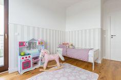 Mieszkanie na Woli - zobacz ciekawy miks stylów - Galeria - Dobrzemieszkaj.pl Toddler Bed, Furniture, Home Decor, Child Bed, Decoration Home, Room Decor, Home Furnishings, Home Interior Design, Home Decoration