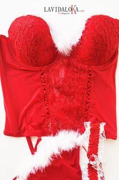 Intimo sexy para Navidad, solprende a tu chico!!!