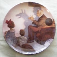 Norman Rockwell Heritage Collector Plate The Shadow by GranVintage, $8.95