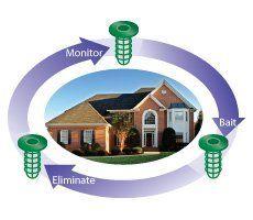 #Termite Control Services (SENTRICON SYSTEM)