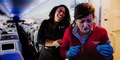 Photos that show the secret lives of flight attendants - INSIDER