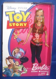 Toy Story Barbie, Toy Story Dolls, Toy Story 3, Barbie Dolls, Barbie Cartoon, Famous Movies, Barbie Collector, Barbie Friends, Woody