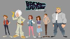 Back To The Future- The Tv Show by chillyfranco.deviantart.com on @deviantART