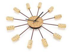 Cork Clock | LUUUX