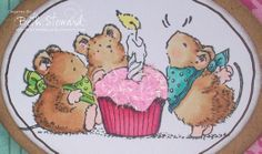 penny black critter party | Penny Black Saturday challenge #166!