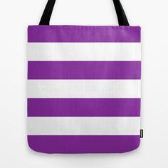 #Purple #Stripes Design #Tote #Bag