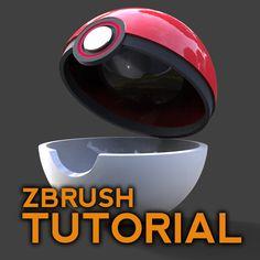 ZBrush Poké Ball Tutorial, Michael Pavlovich on ArtStation at…