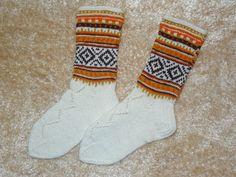 Knitted socks wool socks 100% woool Handknitted by NatureElfsArt