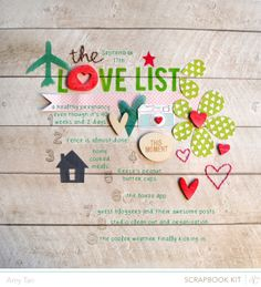 The Love List by amytangerine at @Studio_Calico ANTIQUARY