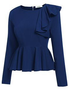 www.amazon.com Meaneor-Womens-Ruffles-Peplum-Sleeve dp B01N7CJ32P%3Fpsc%3D1%26SubscriptionId%3DAKIAJI3OEGB4HA67SMCA%26tag%3D1upblogcom-20%26linkCode%3Dalb%26camp%3D2025%26creative%3D165953%26creativeASIN%3DB01N7CJ32P