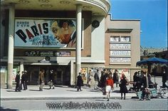 Ancien cinéma Lux-Bastille, construit en 1937 et détruit en 1984, photo André Zucca, 2 Place de la Bastille, Paris 12ème