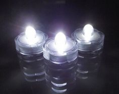 12 Submersible Waterproof Tea Candle Wedding Floral LED lights- Bright White in Venue Decorations Led Candle Lights, Vase With Lights, White Led Lights, Wedding Vase Centerpieces, Floral Wedding Decorations, Peacock Wedding, Wedding Ideas, Wedding Fun, Garden Wedding