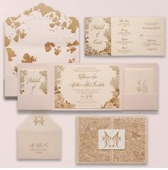 Luxury Wedding Invitations by Ceci New York - Our Muse - Glamorous Florida Wedding - Be inspired by Katherine & Matthew's glamorous, tropical wedding in Key Largo, Florida - ceci new york, luxury design, luxury invitations, couture invitations, lasercut linen, sea creature, tropical, kissing fish, gold foil, letterpress, coral, blush, die cut, gatefold invitation, save-the-date, custom design, personalized design