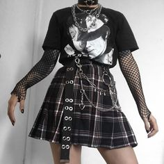 Likes, 20 Comments - Grunge Edgy Outfits, Grunge Outfits, Cute Casual Outfits, Girl Outfits, Aesthetic Grunge Outfit, Aesthetic Fashion, Aesthetic Clothes, Alternative Outfits, Alternative Fashion