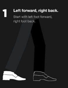 6dbf5675960 Jacob O Neal s graphic breaks down the steps to Michael Jackson s  Moonwalk   dance