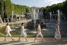 chanel in Versailles