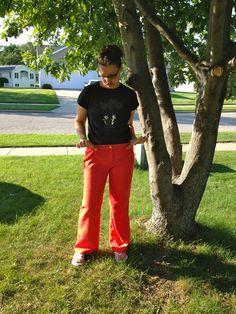 Réaménagement d'un pantalon trop gros et baguée en jeans skinny | Journal d'un MadMama