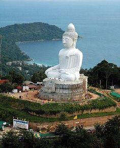 Big Buddha, Phuket, Thailand - more photos and Phuket tips on the blog: http://www.ytravelblog.com/things-to-do-in-phuket/