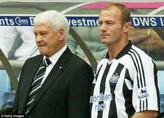 EXCLUSIVE: Former England striker Alan Shearer has revealed that the late Sir Bobby Robson saved his career from fizzling out. Shearer is the Premier League's record goalscorer with 260 goals Bobby Robson, Ruud Gullit, Newcastle United Football, Alan Shearer, St James' Park, Sport Hall, Wayne Rooney, Sports Stars, Football Players