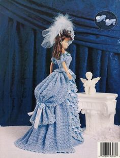Image detail for -Victorian Dress and Accessories Crochet Pattern Fashion Dolls PDF ...