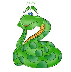 Cartoon Snake Clipart