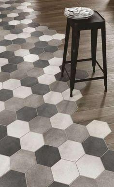 Modern flooring tile and wood combination. Modern flooring tile and wood combination. Vinyl Flooring Kitchen, Kitchen Vinyl, Wood Tile Floors, Kitchen Tiles, Wood Floor, Kitchen Wood, Cheap Kitchen, Wood Planks, Diy Kitchen
