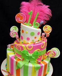 super wacky cake. Google Image Result for http://3.bp.blogspot.com/_WRC14OnbAqg/SrBlhpKisuI/AAAAAAAAA1o/xHNLmPQAb_A/s400/sweet%2B16%2Bfeather%2Bcake.jpg