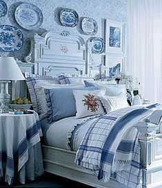 ralph lauren blue and white bedding - Google Search