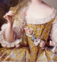 Sadness and classic art, Madame Sophie of France, Detail. by Jean-Marc...