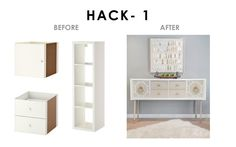 "IKEA Hack Suppliers:  CoverCouch, O'verlays, Panyl, Prettypegs and Semihandmade are ""IKEA-hack companies"" that supply products that fit the IKEA system. Think of them as supplier of hacking shortcuts."