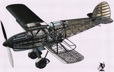 Ww2 Aircraft, Military Aircraft, Rope Crafts, Aircraft Design, Cutaway, Airplane, Aviation, Wings, Planes