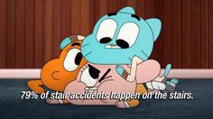 gumball on accidents (The amazing world of gumball)