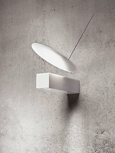 zero.one white, frosted mirror lamp | lighting . Beleuchtung . luminaires | Design made in Germany: Ingo Maurer and Team |