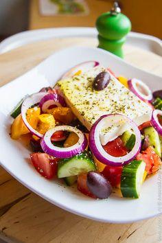 Греческий салат | Кулинарные заметки Алексея Онегина