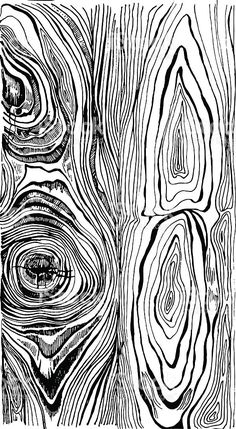 Hand drawn wood texture royalty-free hand drawn wood texture stock vector art & more images of tree