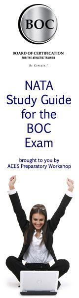 NATA Study Guide for the BOC Exam |