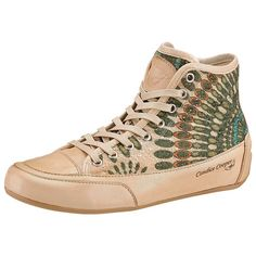 Candice Cooper Sneaker... This would be easy to DIY with a pair of pastel high tops!